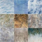 Collage wall texture — Stock Photo