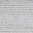 Brick wall of white color building architecture — Stock Photo #27114723