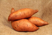 Sweet potatoes — Stock Photo