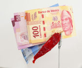 Mxn Pesos — Stock Photo