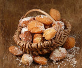 Sweet fritters — Stock Photo