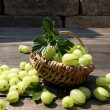 Fresh gooseberries — Stock Photo #28020705