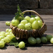 Fresh gooseberries — Stock Photo #28053211