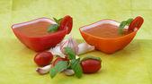 Tomatensoep — Stockfoto