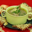 onion soup&quot — Stock Photo