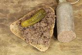 Beef sausage — Stock Photo