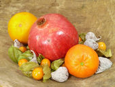 Vruchten-stilleven — Stockfoto