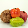 Stock Photo: Tropic fruits