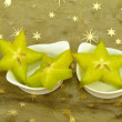 Stock Photo: Star fruits