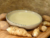 Topinambur soup — Stock Photo