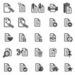 Set of files icons — Stock Vector #16232857