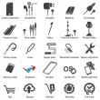 Set Mobile servise web icons — 图库矢量图片 #16784139