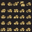 Set of home icons — Stock Vector #17358607