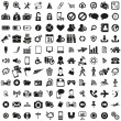 Universal web icons set - Stockvectorbeeld