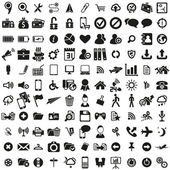 Universal web icons set — ストックベクタ
