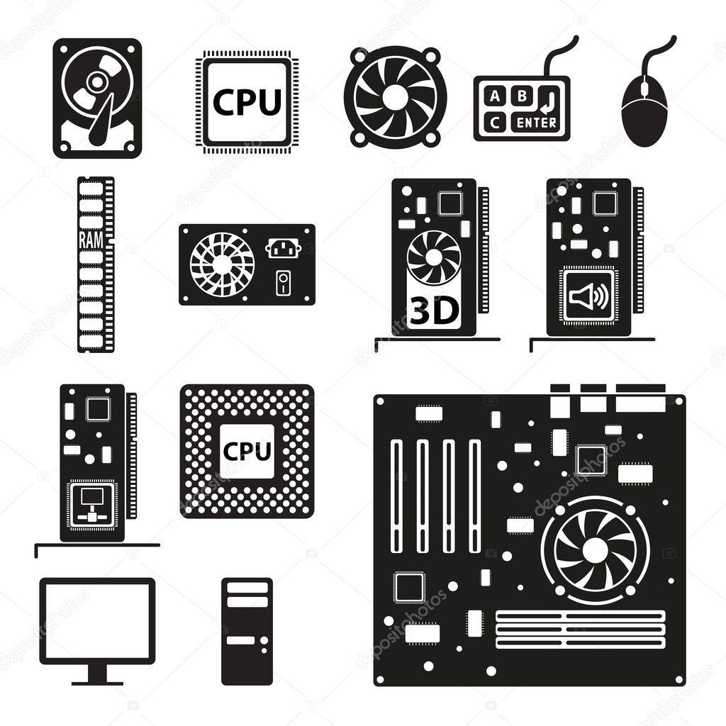 depositphotos 22345829-Set-of-      Hardware