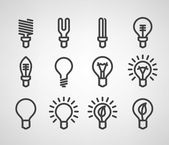 Energy and resource icon set — Stockvektor