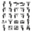 Banking icons set — Stock Vector #41599297