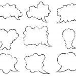 Set of speech bubbles — Stock Vector #42476721
