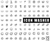 Icon washer — Stock Vector