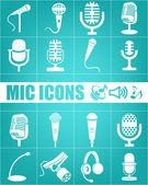 Musik-ikonen — Stockvektor