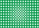 Wallpaper-circles-green and white — Stock Photo