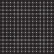 Wallpaper pattern white on black — Stock Photo