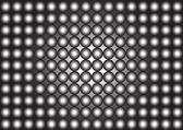Black and white repetitive pattern — Stock Photo