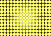 Papier peint-cercles-jaune sur fond noir — Photo