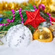 Christmas composition — Stock Photo #15546447