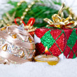Christmas composition - Stock Photo