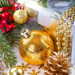 Christmas composition — Stock Photo #15908027