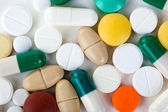 Tablets. Medicine symbol. — Stock Photo