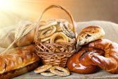 Composition of different breads — Stock Photo