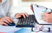 Business accounting — Fotografia Stock