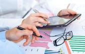 Rachunkowości handlowej — Zdjęcie stockowe