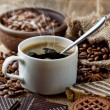 Black coffee — Stock Photo #40253623