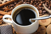 Black coffee — Stock Photo