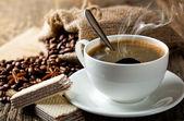 Siyah kahve — Stok fotoğraf