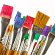Paints and brushes — Stock Photo #44992631