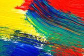óleo abstrato pintados a fundo — Fotografia Stock
