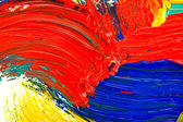 Abstract oil painted background — Stock Photo