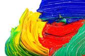 Aceite abstracto pintado fondo — Foto de Stock