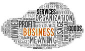 Word Cloud of Business Tag — Stock Photo