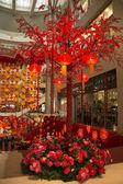 Lantern Decoration at Shopping Mall — Stock Photo
