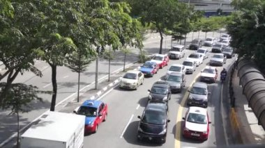 Traffic Jammed — Stock Video