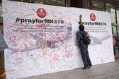 Pray For MH370 — Stock Photo