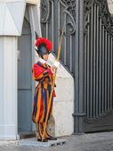 Vatican gaurds — Stock Photo