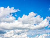 Cloud and sky — Stock Photo