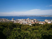 Marseille and sea — Stock Photo